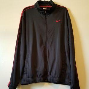 Nike Zipped Sweatshirt in black